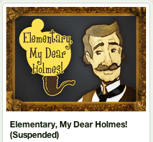 Elementary My Dear Holmes Suspended