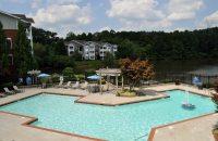 the Lakeside at Town Center Apartment complex in the Atlanta suburb of Marietta, Georgi