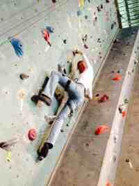 Women Climbing Risk
