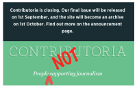 Contributoria Shuts Down