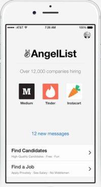 AngelList App for Jobs
