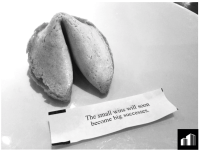 Fortune Cookie Small WIns Big Successes