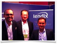 Lendix team  Olivier Goy Pascal Ouvrard Patrick de Nonneville