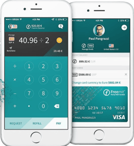Freemit App on iPhone