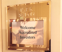 Welcome Acctedited Investors