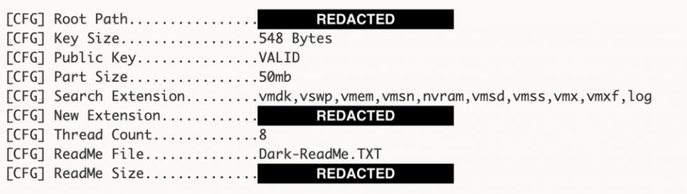 redacted code