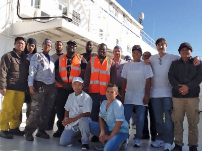 Cape Wrath, credit Seafarers Union
