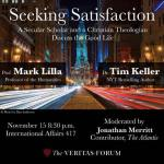 EVENT REVIEW: Veritas Forum: Satisfaction and the Good Life