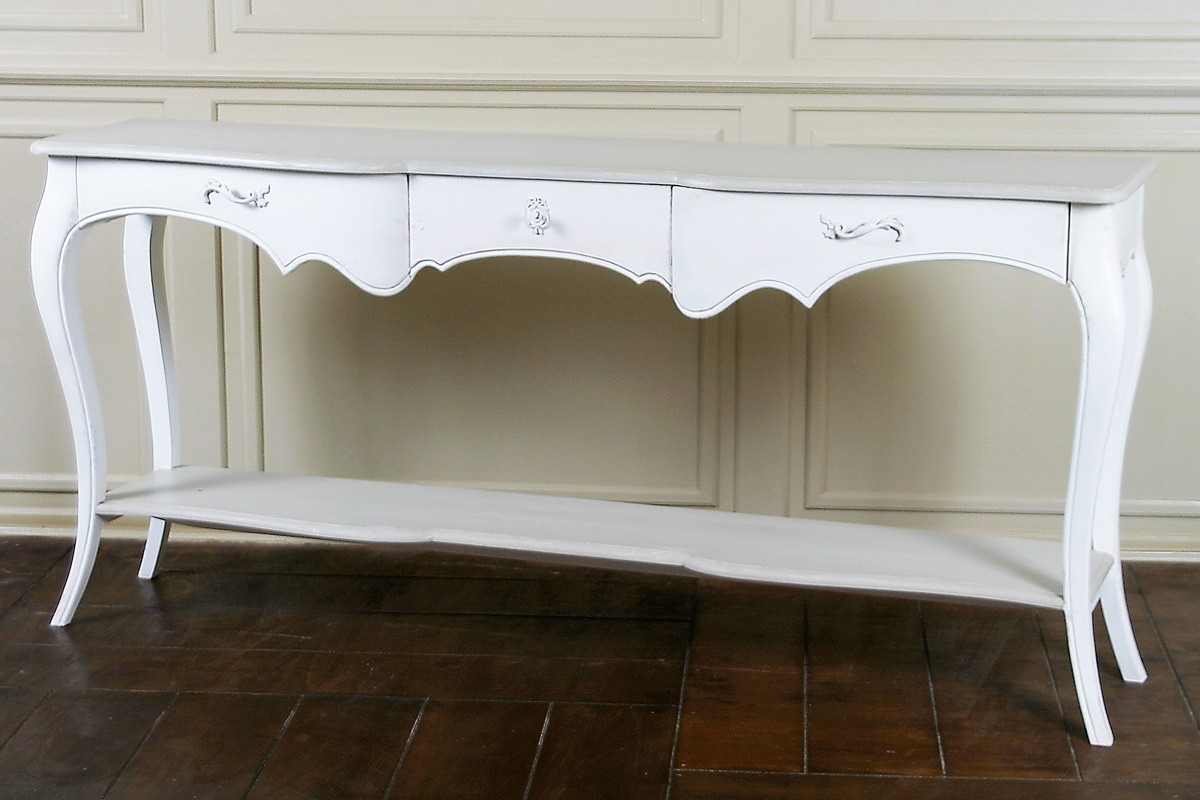 Lyon French Carved Console Hall Table French Console Table French Style Hall Table