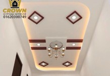 Gypsum False ceiling& Gypsum full ceiling 100% finishing