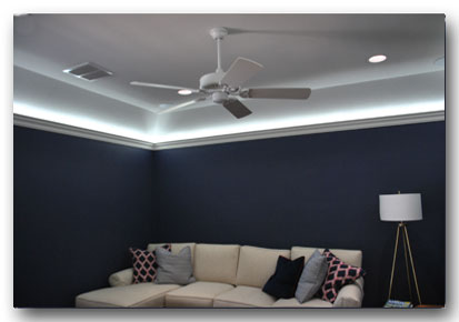 led indirect lighting for crown molding