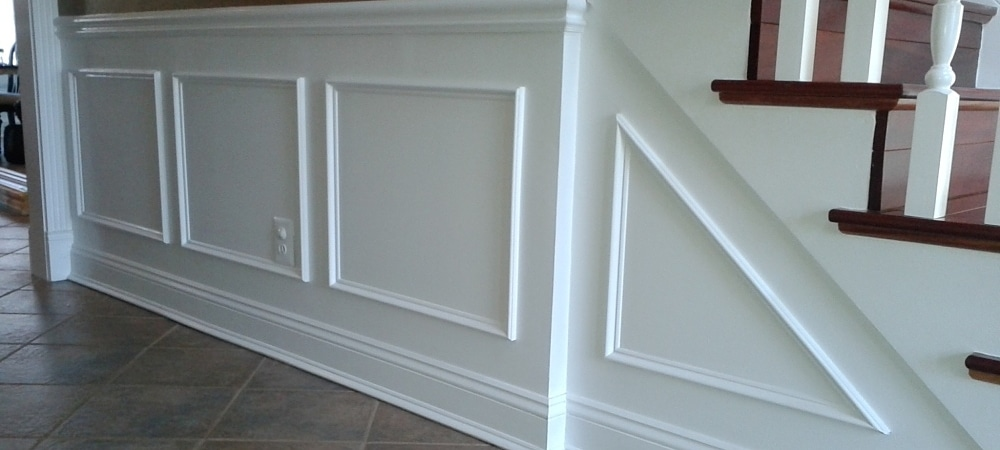 Wainscoting Flat With Boxes Crown Molding NJ LLC