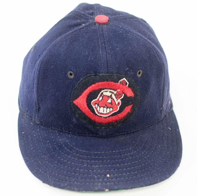 Afbeeldingsresultaat voor 1954 Cleveland Indians cap