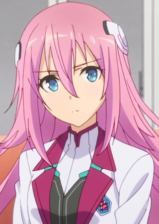 Julis isn't used to the idea of having friends. She's not sure how to react to Claudia and the rest. Capture from the Crunchyroll stream.
