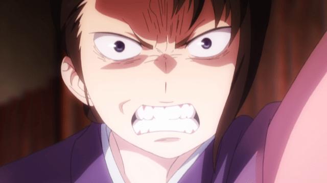 Blue Exorcist Kyoto Saga Episode 2: Ryuji's mom doesn't like his dye job