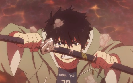 Blue Exorcist Kyoto Saga Episode 10: Rin makes the most of Ryuji's gesture of trust