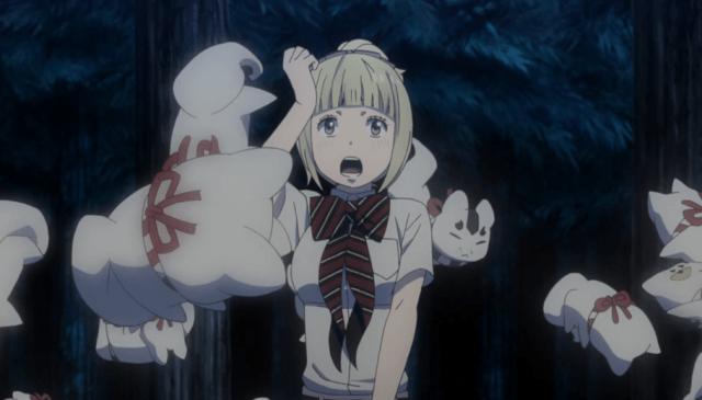 Blue Exorcist Kyoto Saga Episode 9: Kamiki's helpers are adorable