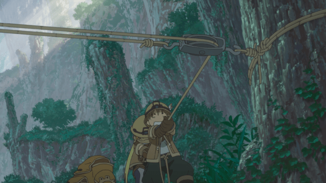 Made in Abyss Episode 1: Nat and Riko work well together