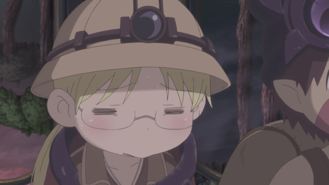 Made in Abyss Episode 6: Riko suffers from the Curse of the Abyss