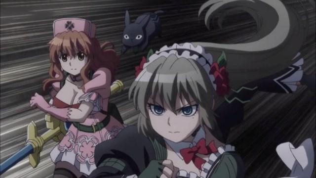 Magical Girl Spec-Ops Asuka Episode 4: Asuka and Kurumi were in perfect sync