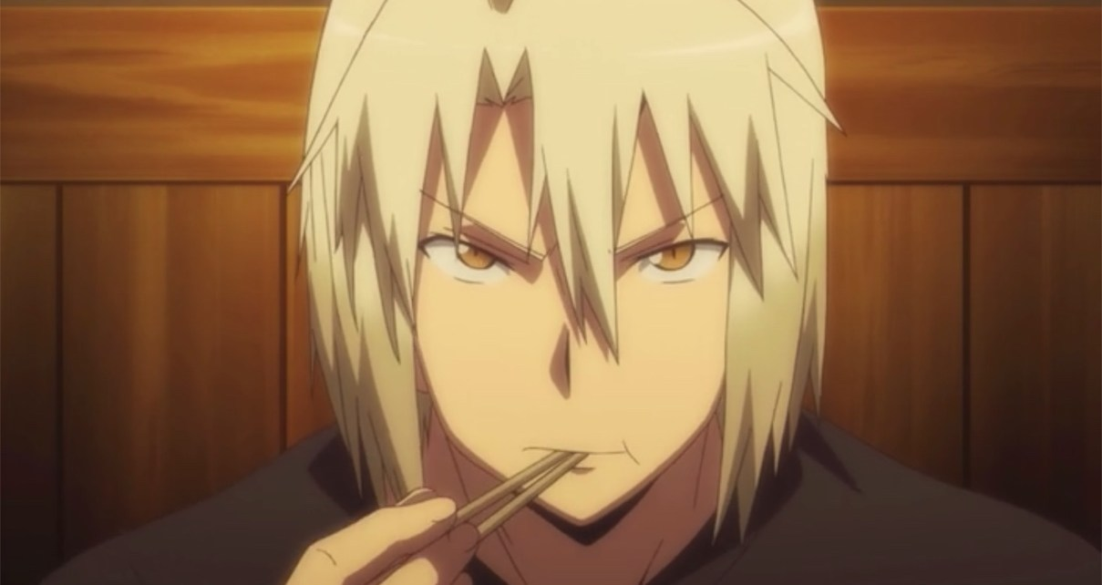 The Devil Is a Part-Timer Episode 6: Shirou eats with confidence