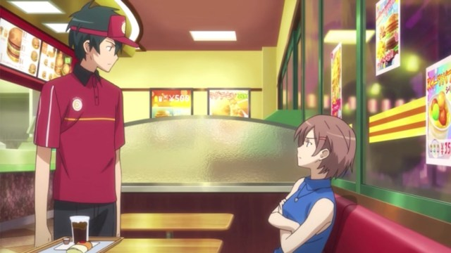 The Devil Is a Part-Timer Episode 9: Rika wouldn't take any backtalk from Sadao
