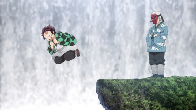 Demon Slayer Episode 3: Tanjirou's expressions can be hilarious.