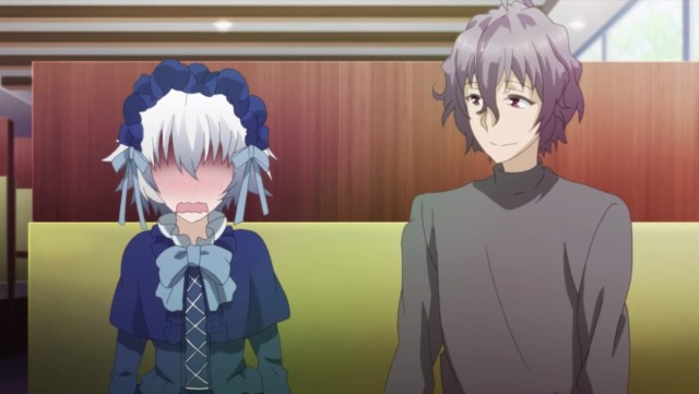 Review Of Chivalry Of A Failed Knight Episode 03: Shizuku is embarrassed
