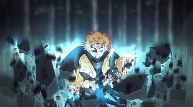 Demon Slayer: Kimetsu no Yaiba Episode 17: Combat Zenitsu is my favorite Zenitsu