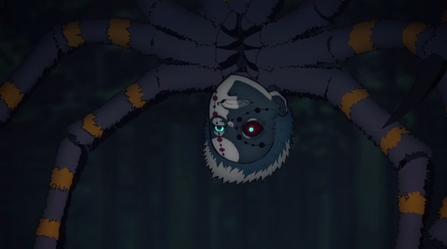 Demon Slayer: Kimetsu no Yaiba Episode 17: Big brother spider? Also terrifying
