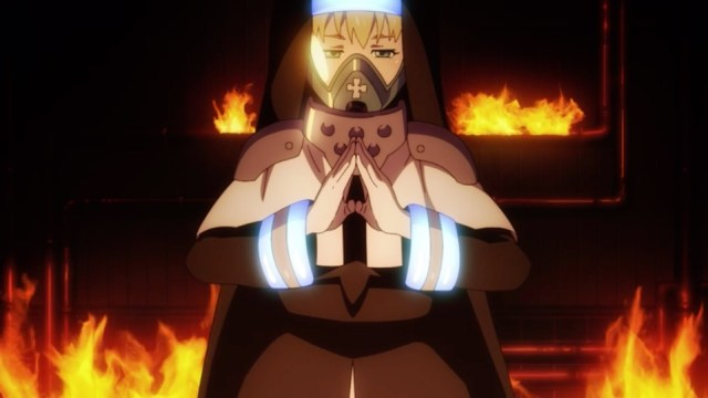 Fire Force Episode 01: Sister Iris adds a religious dimension