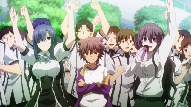 Review Of Chivalry Of A Failed Knight Episode 12: Ikki earned support from the other students