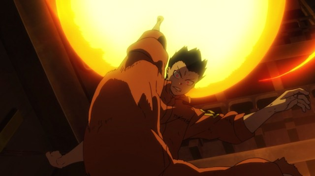 Review: Fire Force Episode 9: Shinra continues to grow as a fighter