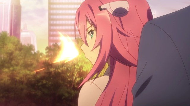 The Asterisk War Episode 3: Julis is no lightweight when it comes to combat.