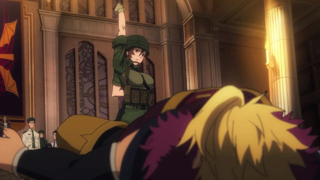 Gate Thus the JSDF Fought There Episode 14: Kuribayashi taught Zorzal a lesson