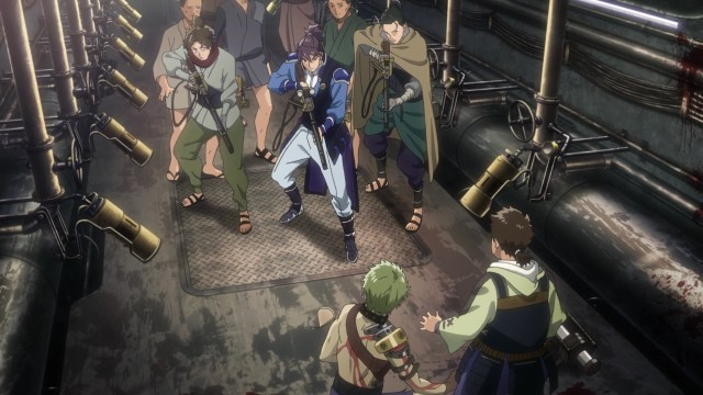 Kabaneri of the Iron Fortress Episode 2: Kurusu really has it in for Ikoma.