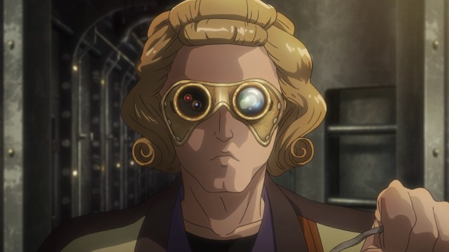 Kabaneri of the Iron Fortress Episode 3: The steam smith speaks English?