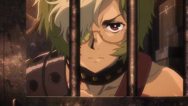 Kabaneri of the Iron Fortress Episode 10: Ikoma doesn't like his cage