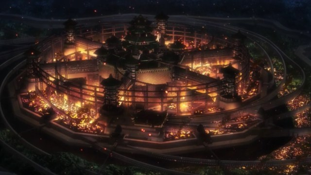 Kabaneri of the Iron Fortress Episode 12: Flames consumed the shogun's city