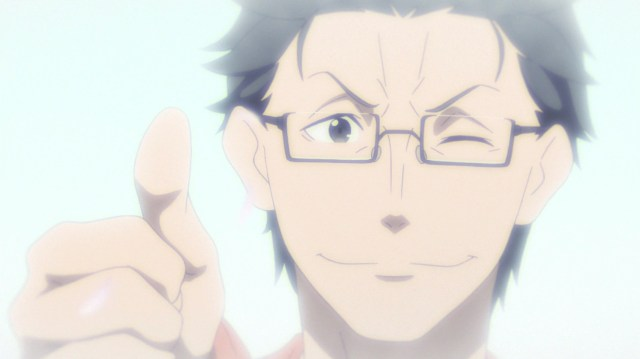 Re:ZERO season 2 Episode 29: His dad asked Subaru to take care of his parents when they grew old.