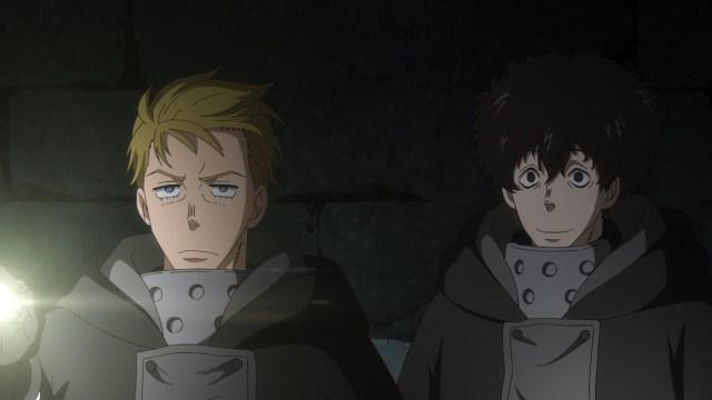 Fire Force Season 2 Ep 9: Licht seemed proud of Arthur.