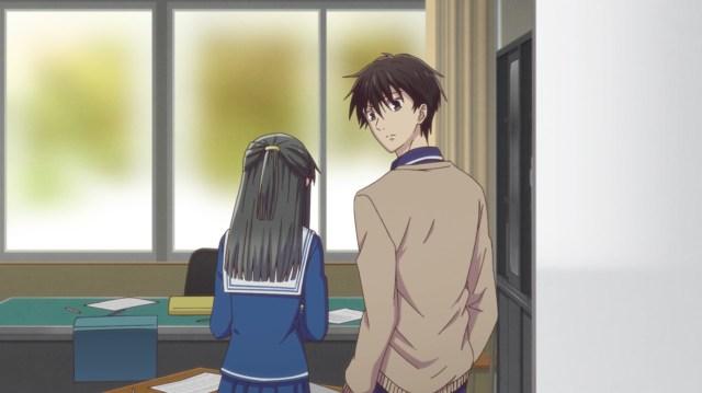 Fruits Basket Season 2 Episode 20: Kakeru might be a jokester, but he has enough sense to help Machi.