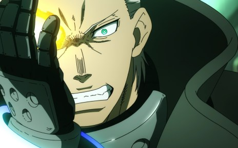 Fire Force Season 2 Ep 13: Burns' eye reacted to the Adolla Link