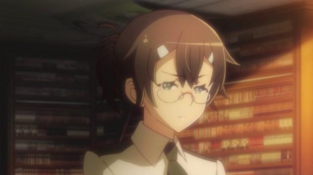 Outbreak Company Ep 11: Minori felt guilty, but still followed her orders.