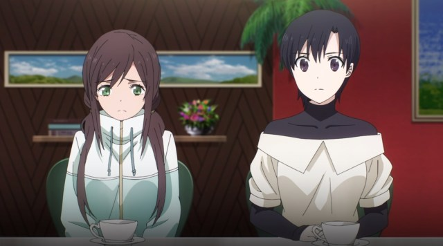 The Irregular at Magic High School: Visitor Arc Episode 1: Mia and Sylvia ask how Lina's investigation is going