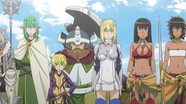 DanMachi III Episode 8: The Loki Familia were astonished at Bell's actions
