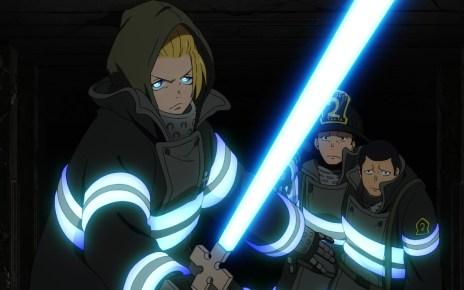 Fire Force Season 2 Ep 21: Arthur protects two survivors