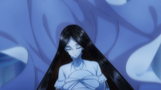 Land of the Lustrous Episode 7: Antarcticite was apprehensive even of Bort, even if Bort is sleep walking!