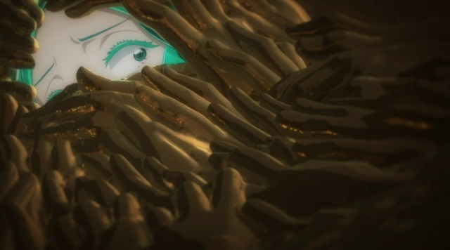 Land of the Lustrous Episode 8: Phos struggled to convince their arms to obey