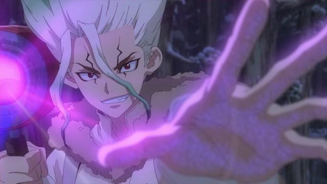 Dr. Stone Season 2 Episode 2: Senkuu uses the Power of Science
